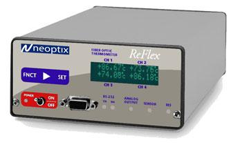 Medidor temperatura fibra óptica