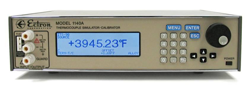 Calibrador y simulador de termopares