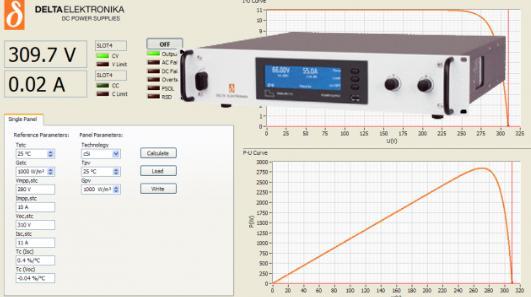 Simulador foto-voltaico