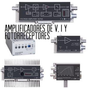Amplificadores baja señal V, I y foto receptores