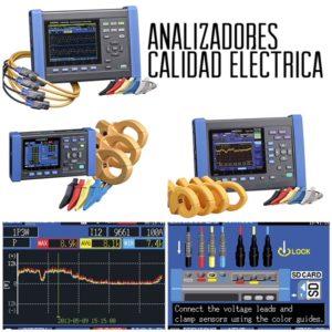 Analizador calidad eléctrica