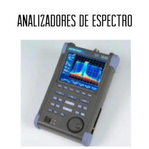 Analizadores de espectro