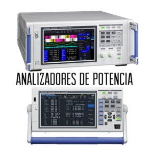 Analizadores de potencia eléctrica