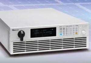 Chroma fuente simular paneles solares 1800V